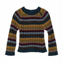 Baby Alpaka Regnbue Sweater