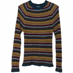 Alpaka Regnbue Sweater